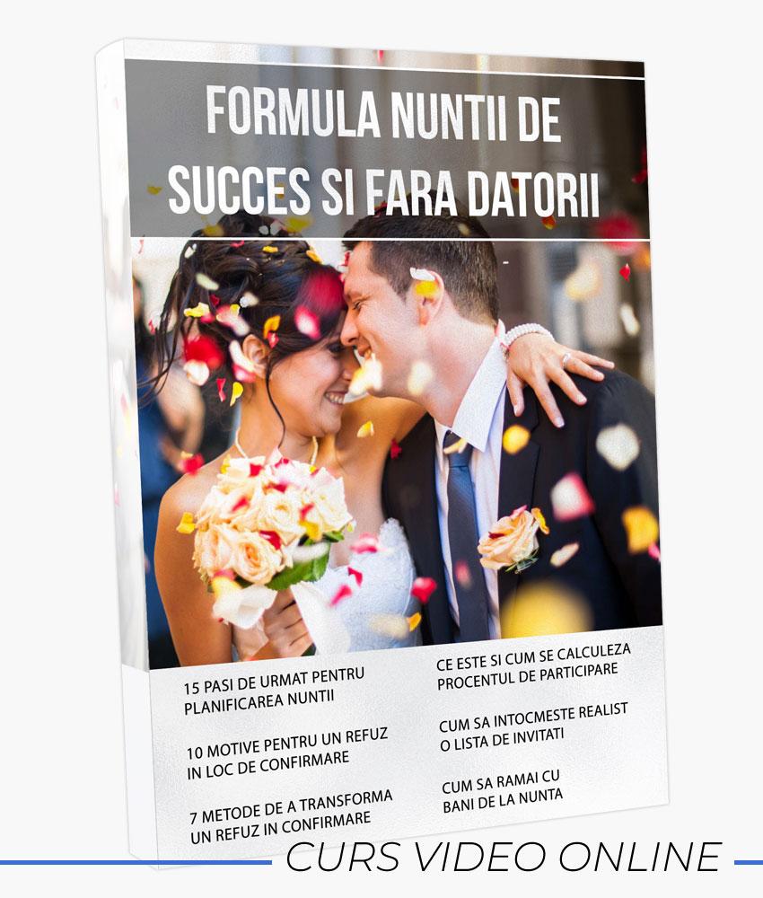 WEDDING MASTERY - Formula nuntii de succes