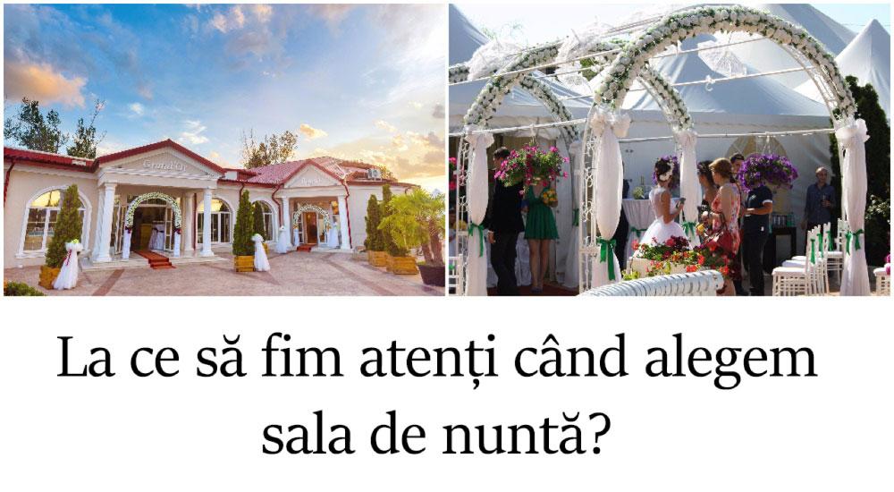 WEDDING MASTERY - La ce să fim atenți când alegem sala de nuntă?