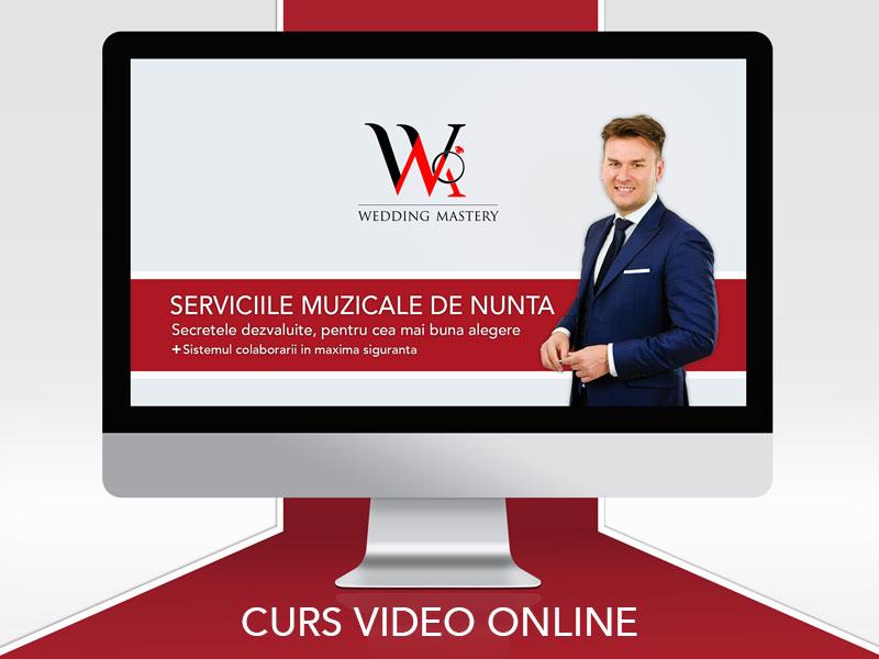WEDDING MASTERY - MAC Florea - Serviciile muzicale de nunta