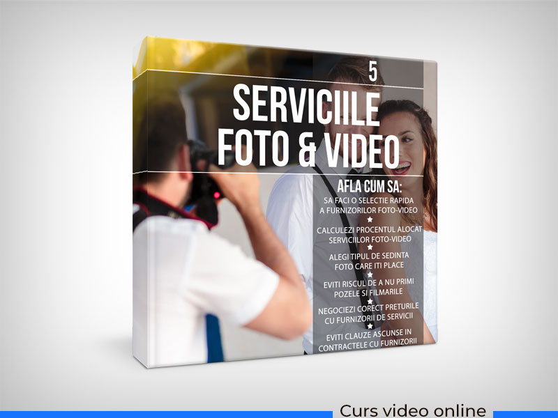 WEDDING MASTERY - Serviciile foto si video