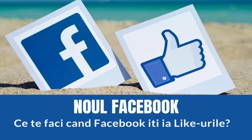 WeddingMastery - Noul design al Facebook  - ce te faci când platforma îți ia like-urile?